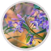 Fireweed Number Three Round Beach Towel