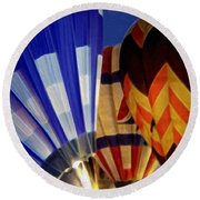 Firing Up Round Beach Towel by Kathy Bassett