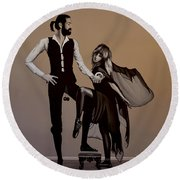 Fleetwood Mac Rumours Round Beach Towel