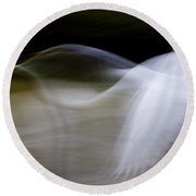 Round Beach Towel featuring the photograph Flight Of Fancy by Anne Rodkin