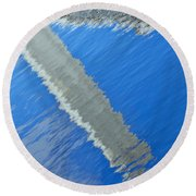 Round Beach Towel featuring the photograph Floridian Abstract by Keith Armstrong