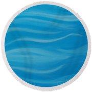Flow2 Round Beach Towel