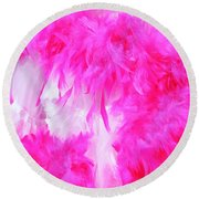 Fluff Round Beach Towel