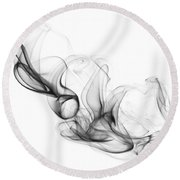 Fluidity No. 2 Round Beach Towel