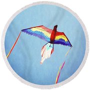 Fly Free Round Beach Towel
