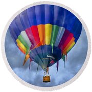 Flying The Coop Round Beach Towel by Betsy Knapp