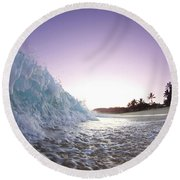 Foam Wall Round Beach Towel