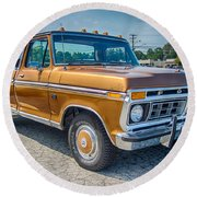 Ford F-100 7p00531h Round Beach Towel