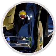 Ford Pickup Round Beach Towel