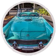 Ford Thunderbird  Round Beach Towel