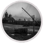 Fort Ross Round Beach Towel