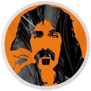 Frank Zappa Collection Round Beach Towel