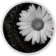 Round Beach Towel featuring the photograph Fresh Cut by Kristi Swift