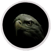 From The Shadows Round Beach Towel
