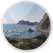 From The West Round Beach Towel by George Katechis
