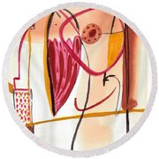 From Within 1 Round Beach Towel