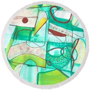 From Within #15 Round Beach Towel