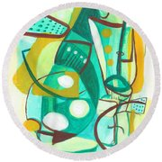 From Within #16 Round Beach Towel