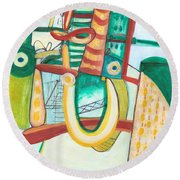 From Within #19 Round Beach Towel