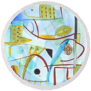 From Within 2 Round Beach Towel