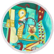 From Within #20 Round Beach Towel