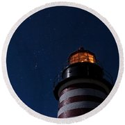 Full Moon On Quoddy Round Beach Towel