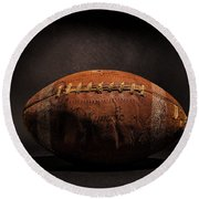 Game Ball Round Beach Towel