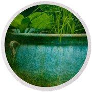 Gardenscape Round Beach Towel by Amy Weiss