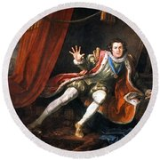 Garrick Richard IIi Round Beach Towel