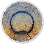 Gateway To Earth Round Beach Towel
