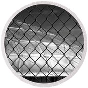 Geo Dome Round Beach Towel by Irma BACKELANT GALLERIES