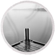 Ghost Round Beach Towel