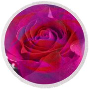 Gift Of The Heart Round Beach Towel