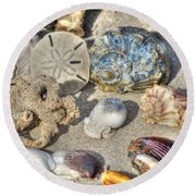 Gifts Of The Tides Round Beach Towel by Benanne Stiens