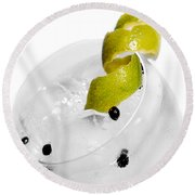 Gintonic Detail Round Beach Towel