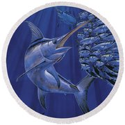 Gladiator Off0080 Round Beach Towel