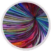 Glass Wave Round Beach Towel