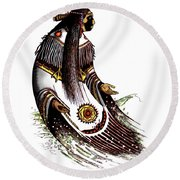 Glooscap Round Beach Towel