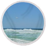 Glorious May 4 Round Beach Towel