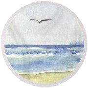 Goelan Atlantique Round Beach Towel
