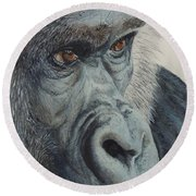 Going Ape...sold  Round Beach Towel