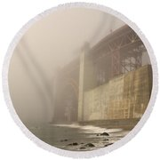 Golden Gate Superfog Round Beach Towel