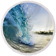 Golden Mile Round Beach Towel