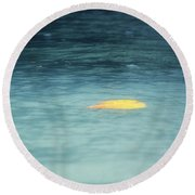 Round Beach Towel featuring the photograph Golden Reflections by Melanie Lankford Photography