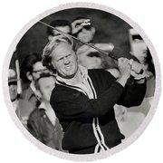 Golfer Jack William Nicklaus Born January 21 1940 Nicknamed The Golden Bear Round Beach Towel