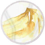Gone Bananas 3 Round Beach Towel
