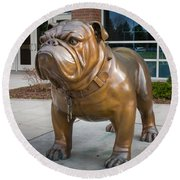 Gonzaga Bulldog Round Beach Towel