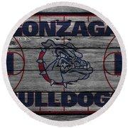 Gonzaga Bulldogs Round Beach Towel