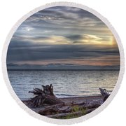 San Pareil Sunrise Round Beach Towel