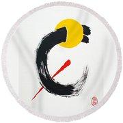 Gordian' Notto O Setsudan Round Beach Towel by Roberto Prusso